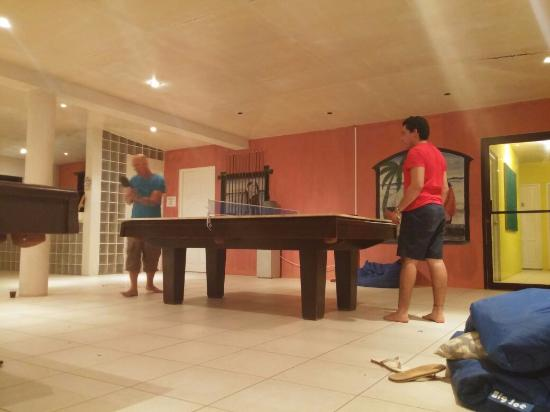 Sunshine Hotel: 2nd Floor With Pool Tables, Ping Pong Tables, Darts And  Boardgames