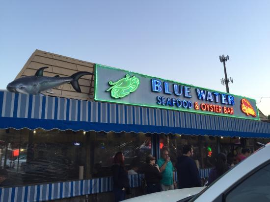 Blue Water Seafood Restaurant Picture Of Blue Water