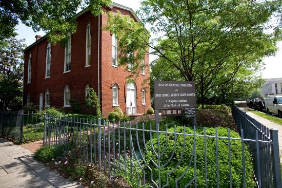 Jewish Historical Society of Greater Washington: The synagogue