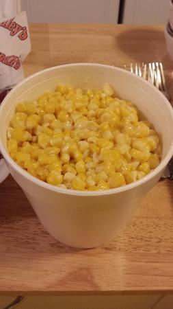 Sweet cream corn mmhmmmm!!