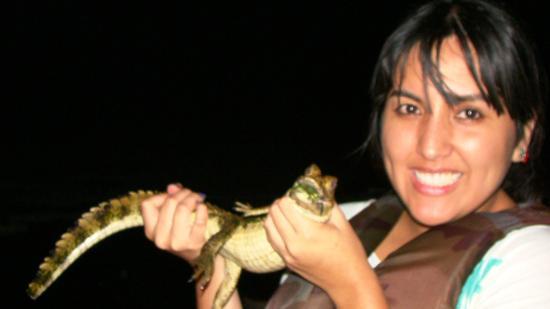 Region Loreto, Peru: excurtion at night