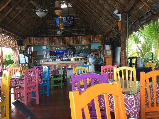 Blue Angel Restaurant: Tolles Restaurant! Klasse Ausblick!
