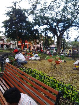 La Plata, Colombia: Plaza Garcia Rovira