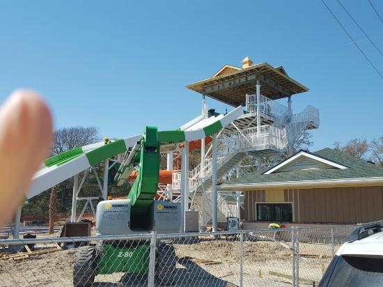 Ocean Lakes Family Campground Water Park Almost Finished Due To Open Memorial Day 2016