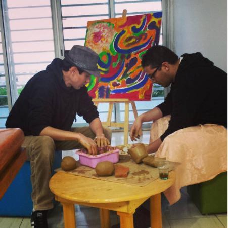 The Little Workshop: Atelier de poterie et fun time au tour