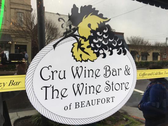Cru Wine Bar & Beaufort Coffee Shop