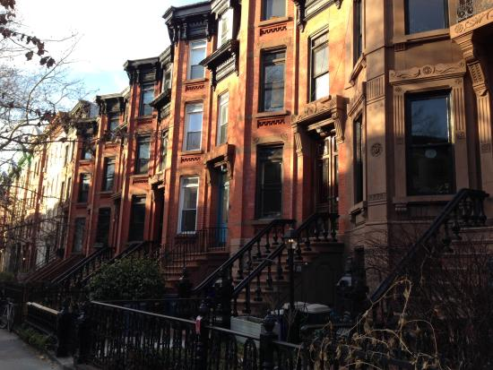 a line of classic brooklyn brownstones picture of park slope rh tripadvisor com