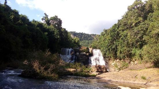 Cotipora, RS: Cascata dos Calzas