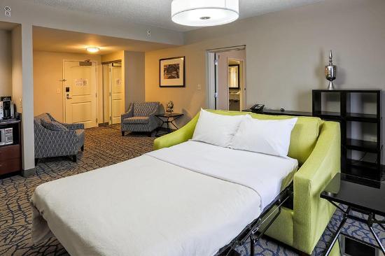 parlor suite sofa bed picture of hilton garden inn louisville rh tripadvisor co uk