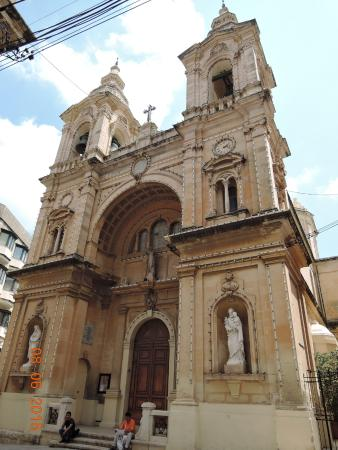 Stella Maris Church Sliema
