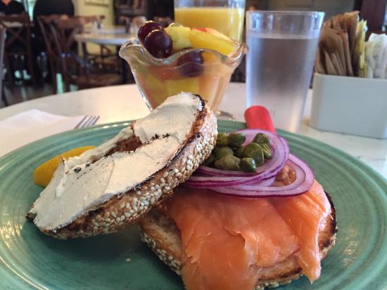 Image result for st. viateur bagel salmon