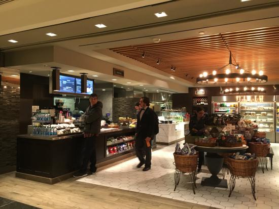 New York Hilton Midtown Herb N Kitchen The Only Dining Facility At