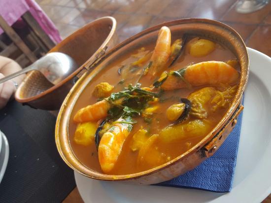 Restaurante Escondida: cataplana