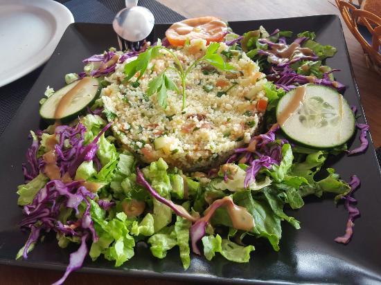 Restaurante Escondida: ensalada