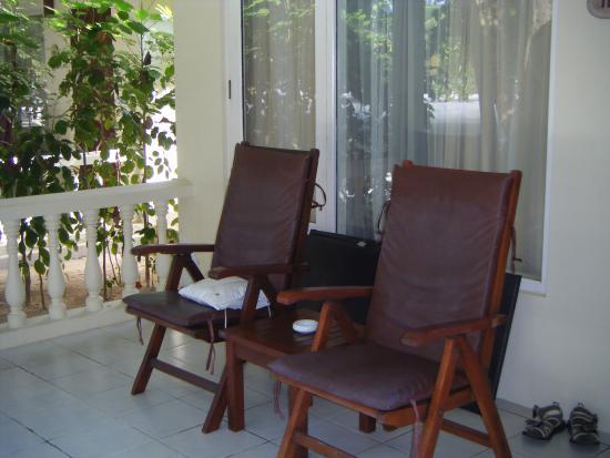 Paradise Island Resort & Spa: veranda