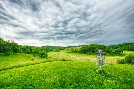 Disc Golf. We have 2 championship disc golf courses at Justin Trails Resort