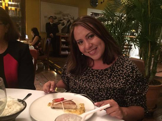 Huaca Pucllana: Delicioso Paiche