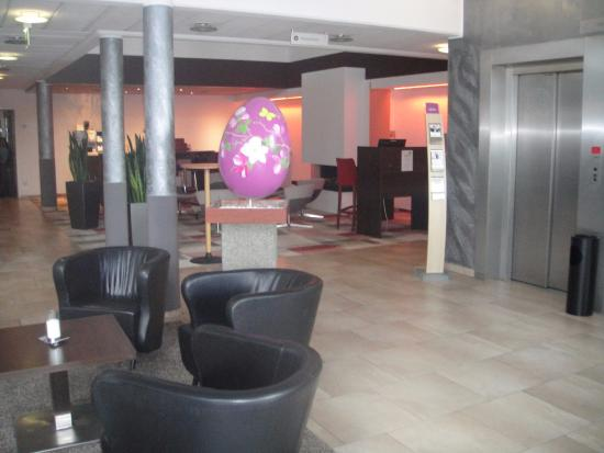Mercure Hotel Duesseldorf Ratingen : De hal