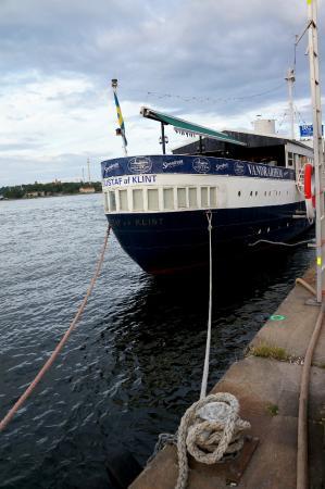 Gustav Af Klint Hotel/Hostel: boat