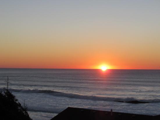 Overlook Motel: Beautiful Sunset