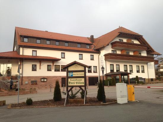 Waldbrunn, Alemania: hotel drei lilien