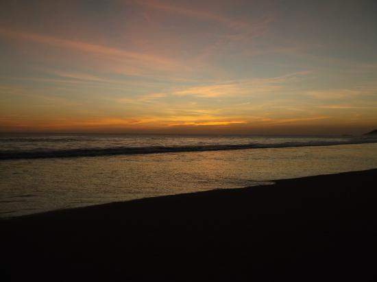 Las Salinas, Nicaragua: Sunset