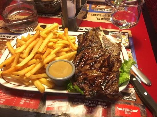 Barbecue ribs photo de buffalo grill montpellier - Accompagnement cote de boeuf grillee ...
