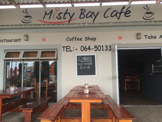 Hentiesbaai, Namibia: Eine Pause😄ein guter Espresso😄!Sehr nettes Kaffee,mit einer Kleinigkeit zu essen.