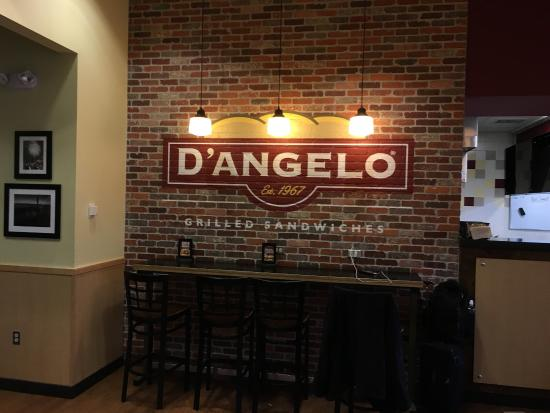 D'Angelo: Sign on wall