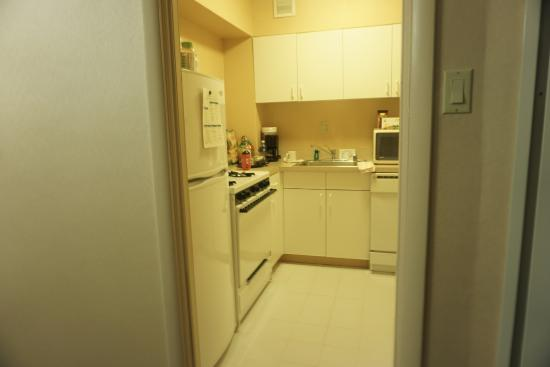 Kitchen in King Suite - Picture of One Washington Circle Hotel ...
