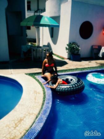 Hotel & Villas Partidor del Sol: En la alberca
