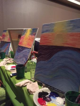 East Meadow, État de New York : Paint Nite