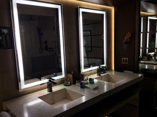 going to do these lighted mirrors in our bathroom renovations rh tripadvisor com