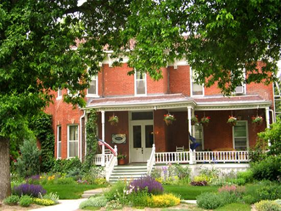 Voss Inn: Summer garden