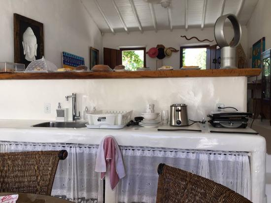 Hospedaria do Quadrado: Cozinha