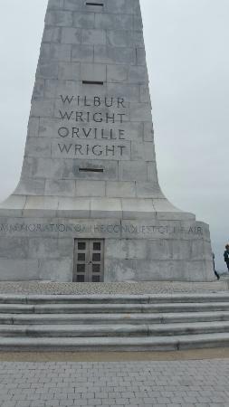 Wright Brothers National Memorial: 20160327_121605_large.jpg