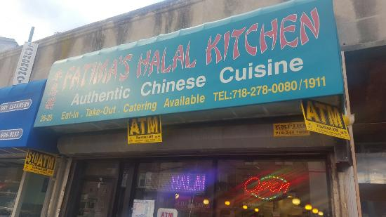 Fatima's Halal Kitchen, Astoria - Menu