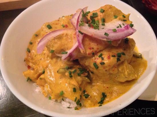 tapas de pollo al curry