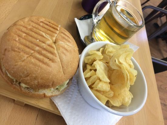 Conrad, MT: One amazing chicken salad sandwich!