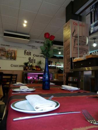 Alcaudete, Hiszpania: Foto casa Rafa restaurante.