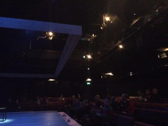 Donmar Warehouse: View of Circle seats above