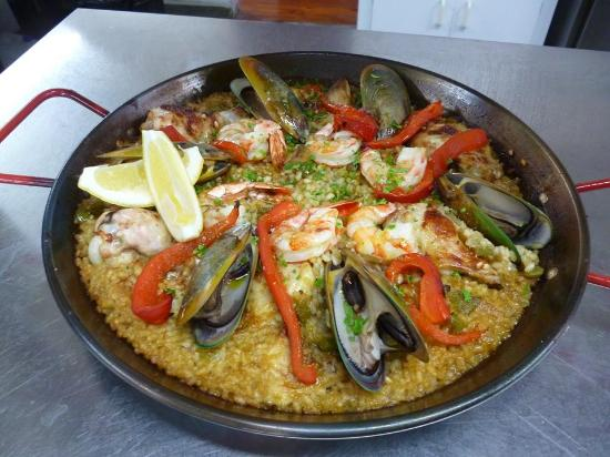 Richmond, New Zealand: Paella Valenciana