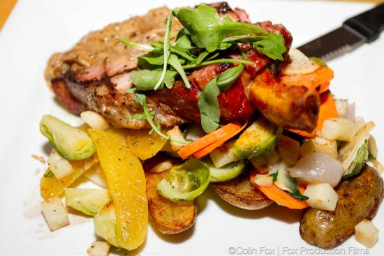 The Mill Cafe: Smoked Pork Chop