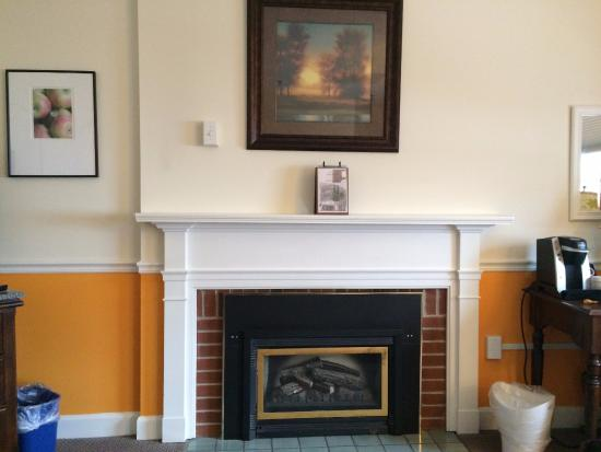The Essex, Vermont's Culinary Resort & Spa: Fireplace/King Room