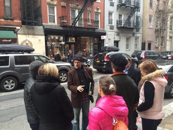 Greg Walks NYC