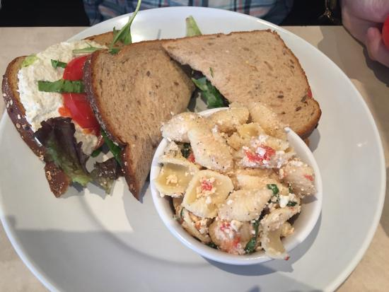 Zoes Kitchen Chicken Salad Sandwich chicken orzo soup - picture of zoes kitchen, annapolis - tripadvisor