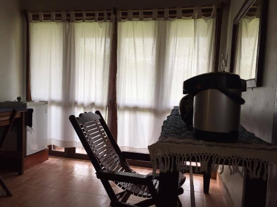 Vang Vieng Organic Farm : You can see how the room look like..