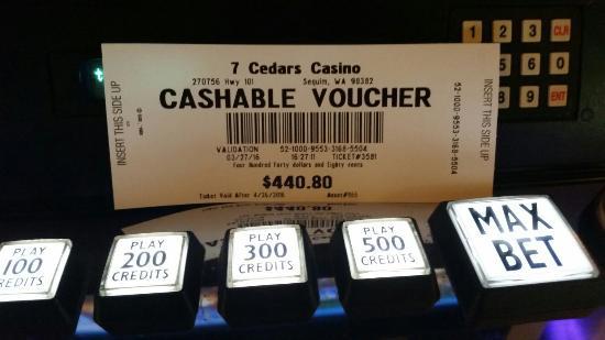 7 Cedars Casino: 20160327_162703_large.jpg