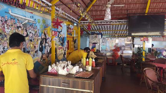 Anjuna, India: Breakfast, Lunch, Dinner