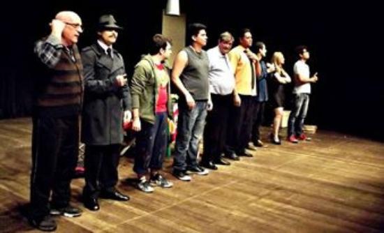 Teatro Municipal Paschoal Carlos Magno : espetáculo